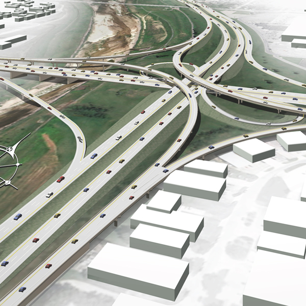 I-235 Interchange Bridges
