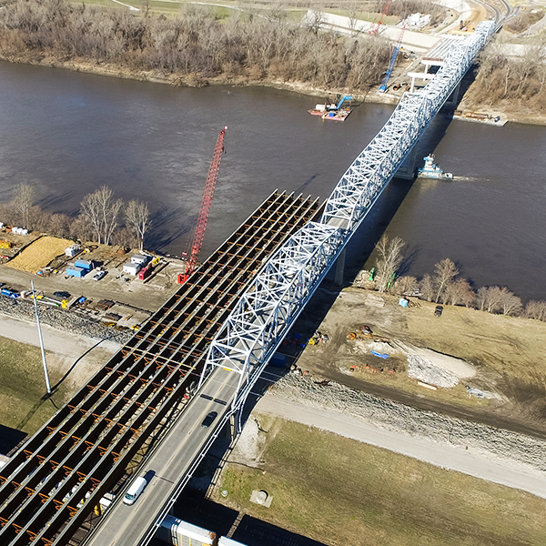 US 69 Fairfax Missouri River Bridge