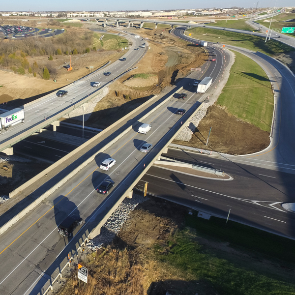 I-435, I-35, K-10 Interchange – Renner & K-10 Bridges