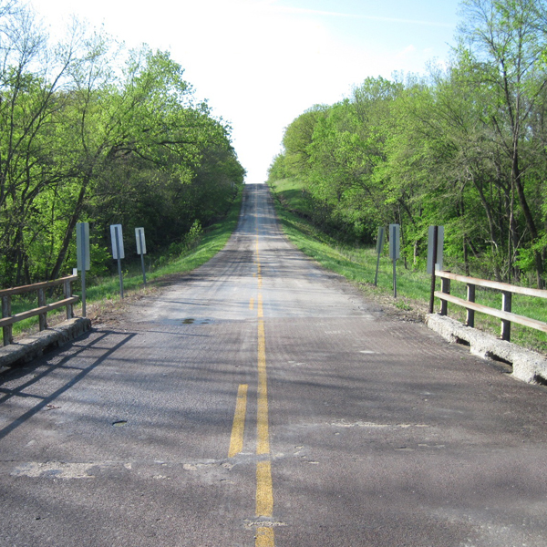 Route P Bridge over Brushy Creek