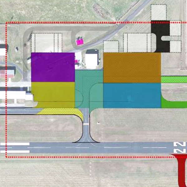 Clinton Regional Airport - Airport Layout & Apron Reconstruction