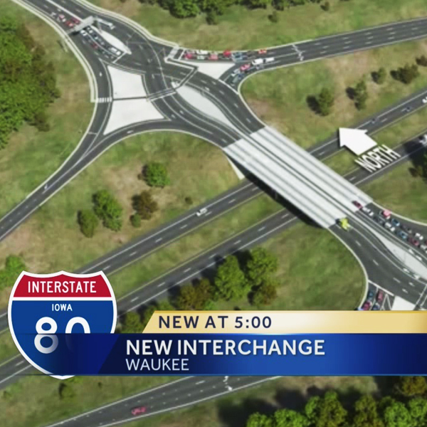 I-80 & Alice's Road Diverging Diamond Interchange
