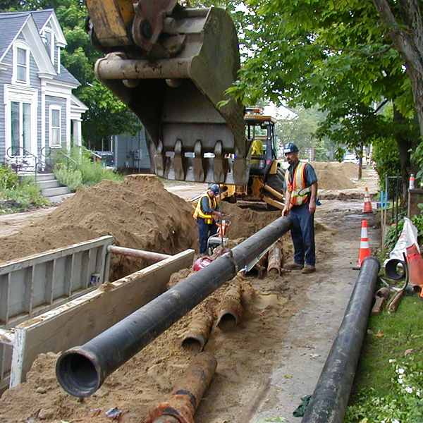 Bales to Belmont Avenue Water Main Replacement